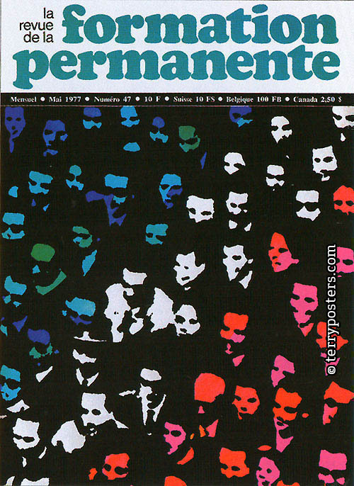 La Revue de La Formation Permanente 47/1977: magazine cover; 1977