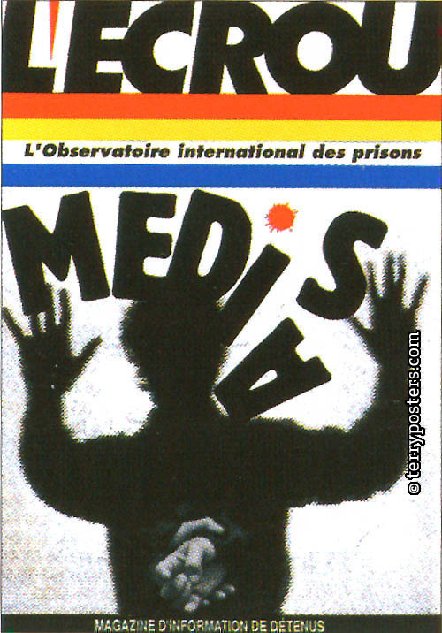 L´Ecrou. L´Observatoire International des Prisons: cover layout; 1990