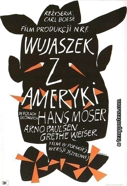 Wujaszek z Ameryki: Movie poster; 1957