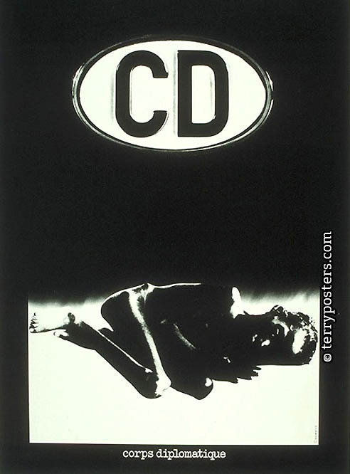 CD corps diplomatique: Poster; 1993
