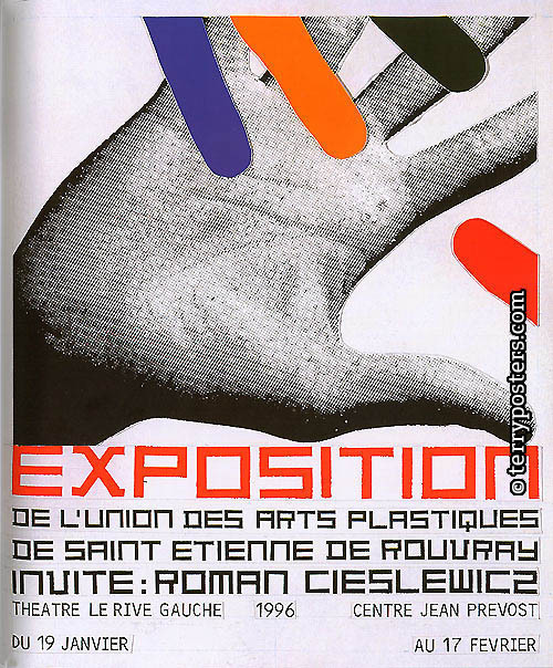 Exposition…Saint Etienne: Exhibition poster design