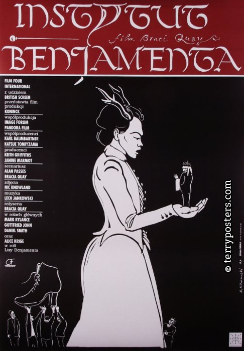 Institute Benjamenta, movie poster; 1997