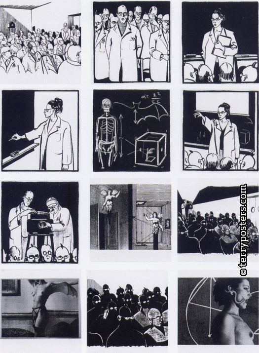 The Secret; sequence of illustrations from novel; 2002
