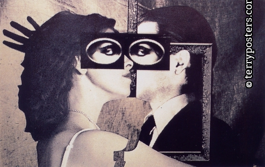 Synapse; silkscreen of photomontage; 1983