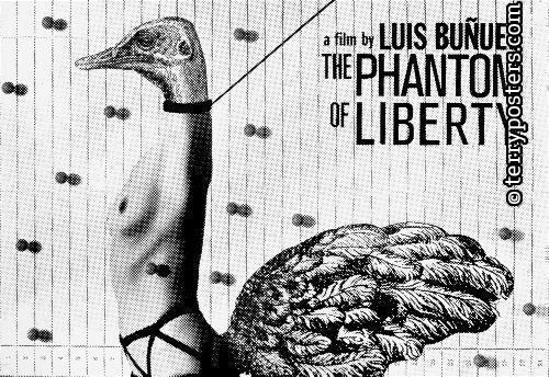 The phantom of liberty; movie poster; 1983