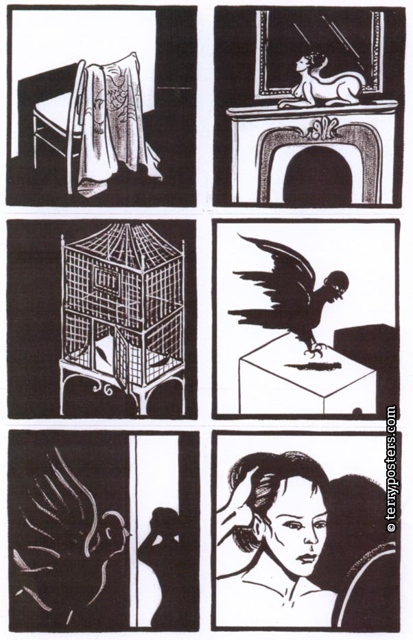 The Secret; illustration from comics; 2002
