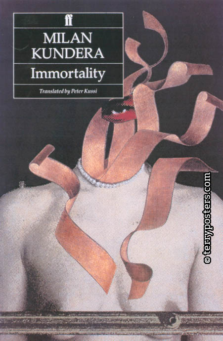 Immortality; book cover