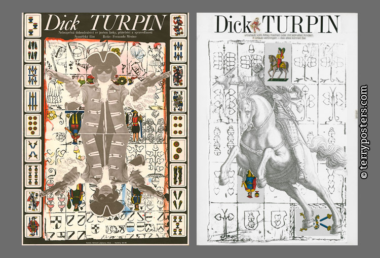 Dick Turpin; realized / unrealized proposal; 1977