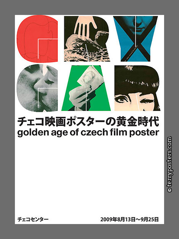 Poster for exhibition of Milan Grygar