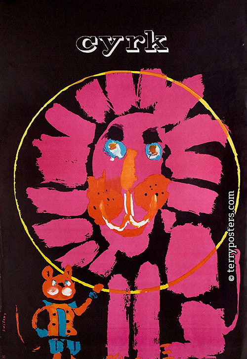 Circus (lion and cat); 1963