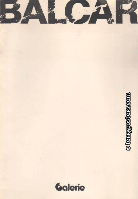 Exhibition catalog OGV Olomouc; 1981