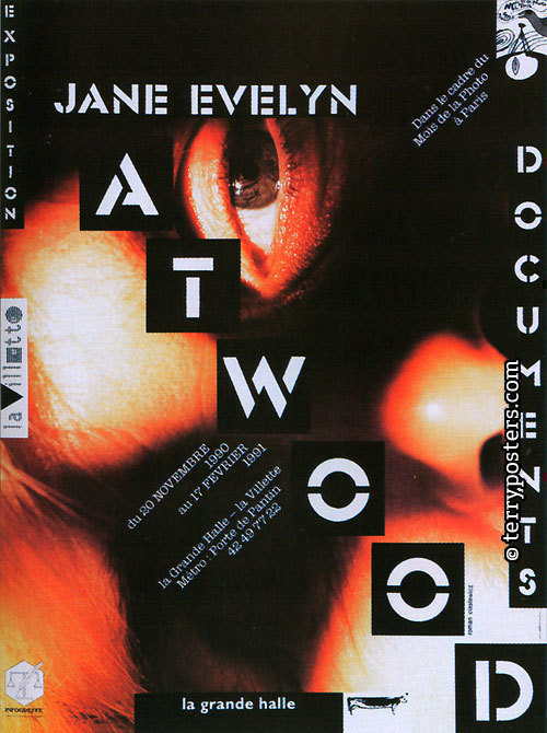 Jane Evelyn Atwood.Document, exposition: Poster; 1991