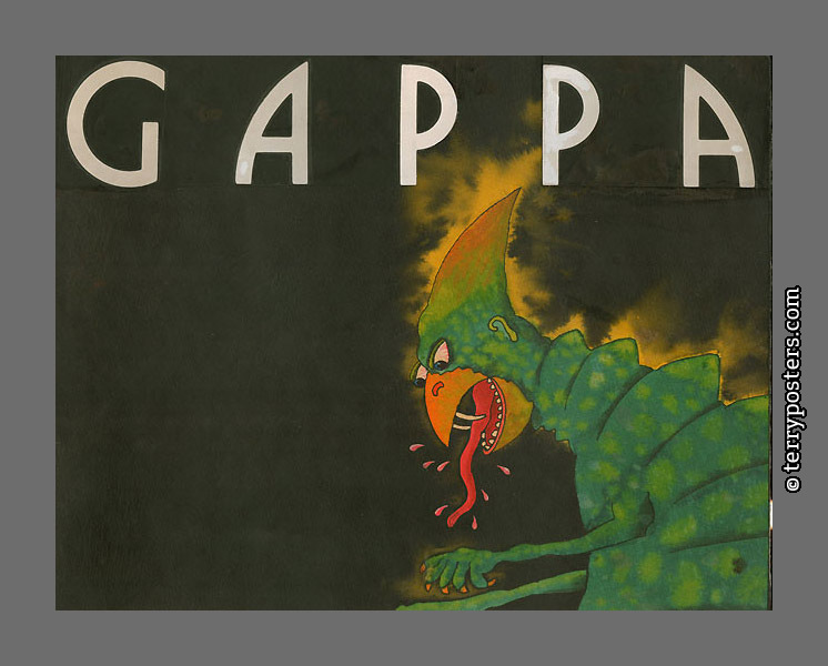 Gappa: Base for realized design (cut) - front page, 1973