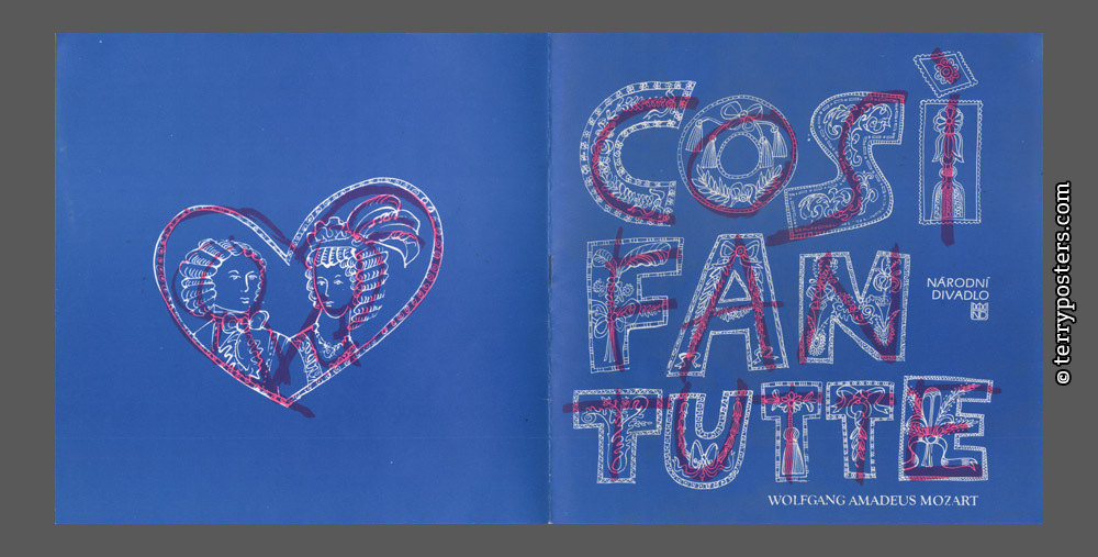 W.A. Mozart: Cosi fan tutte (Balet National theatre); 1989