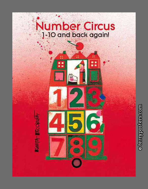 Number Circus 1-10 and back again: Édition du Seuil, 2012