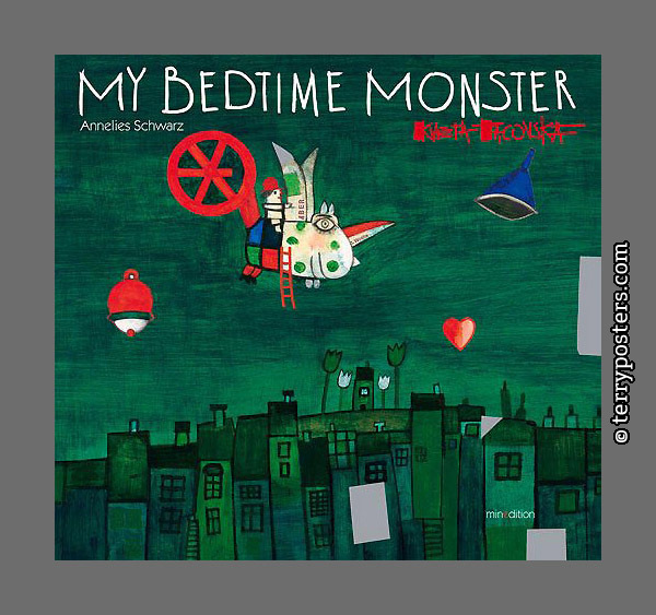 My bed time monster: Minedition; 2015